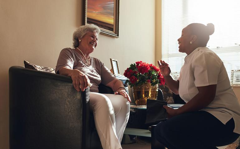 Home Care Packages offer a higher level of support if you have more complex needs (Source: Shutterstock)