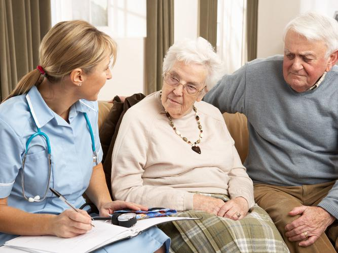 A member of an ACAT/S can help you, and your carer, determine what kind of care will best suit your needs (Source: Shutterstock)