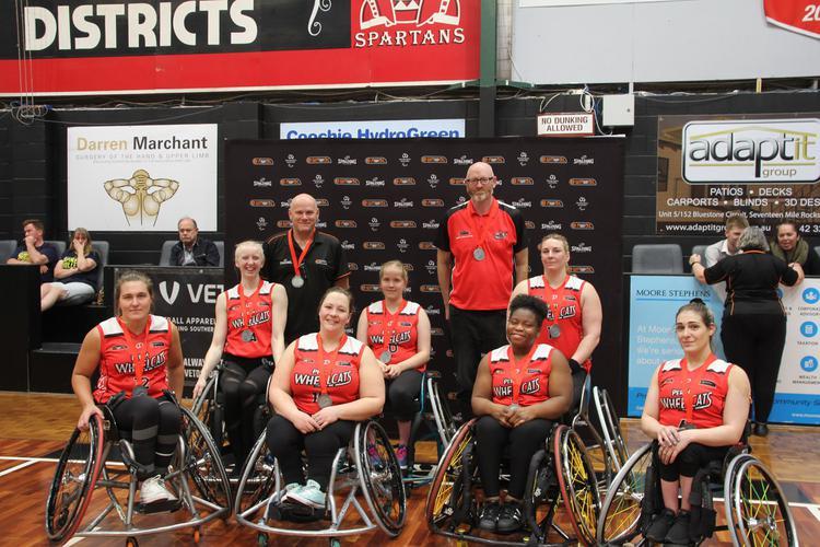[WNWBL Perth Wheelcats 2019 team) [Image Supplied]