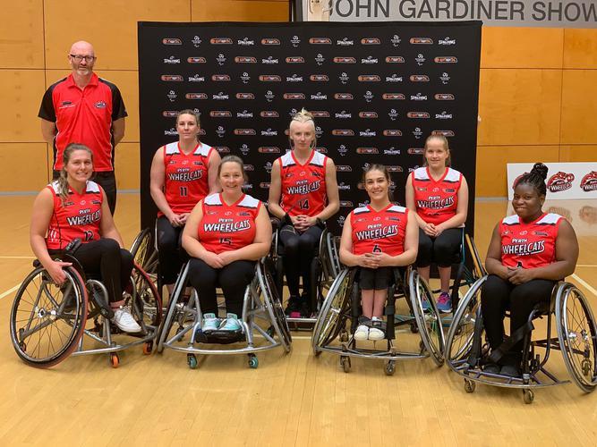 (WNWBL Perth Wheelcats 2019 team) [Image Supplied]