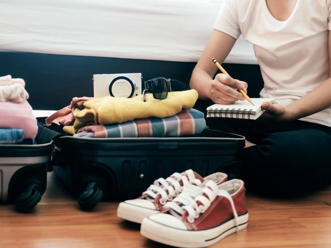 Packing checklist for your next holiday
