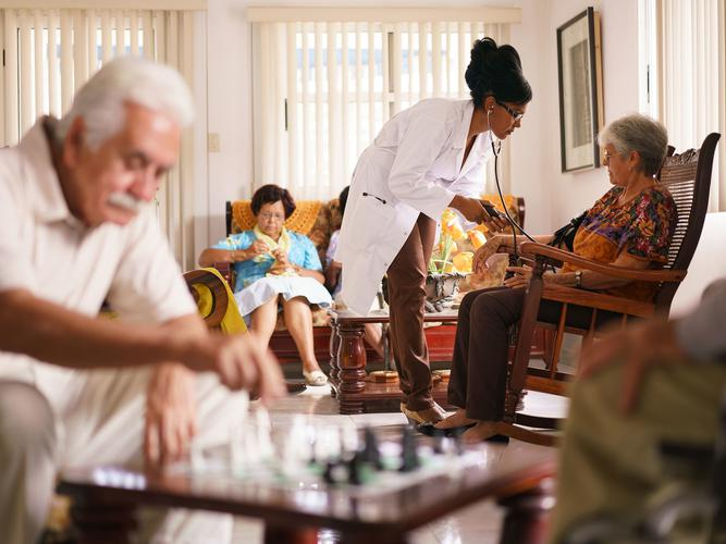 When searching for nursing homes, decide what features are important to you (Source: Shutterstock)