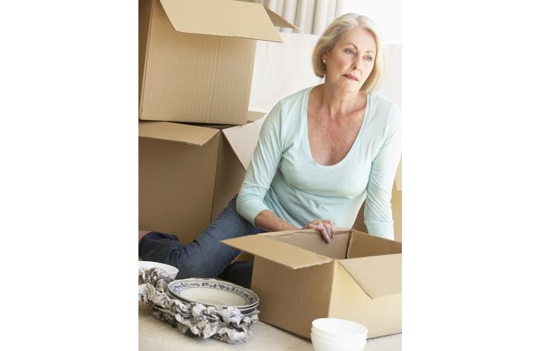 The emotional stress that comes with moving house and coordinating the move can be overwhelming (Source: Shutterstock)