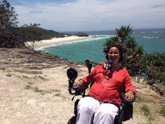 Quadriplegic mum continues her adventures thanks to NDIS funds