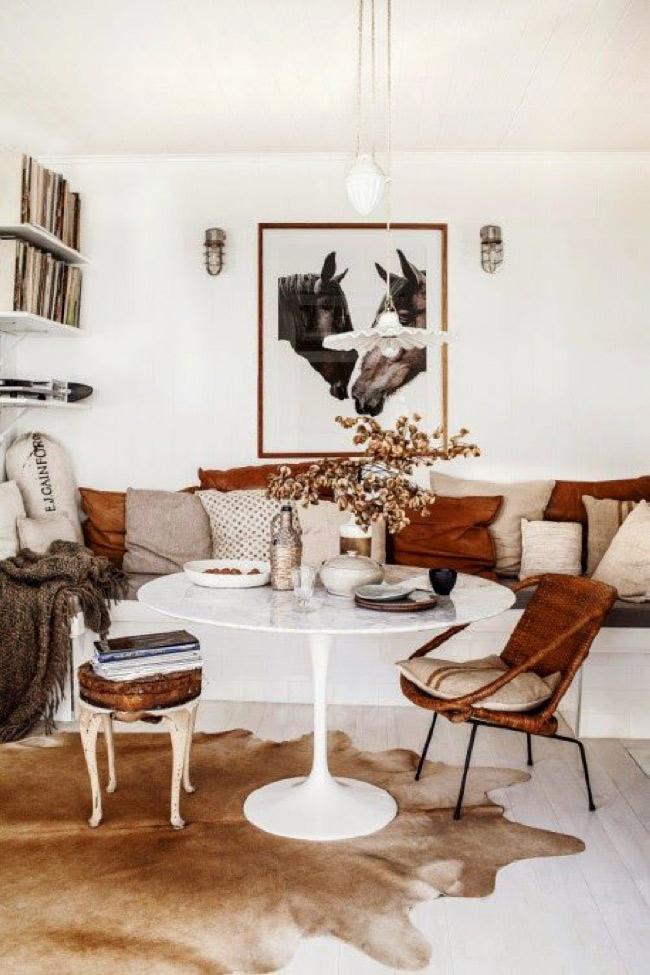 leather and hide interior design
