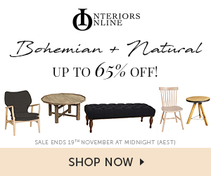 Save on boho inspired and natural furniture - up to 70% off!