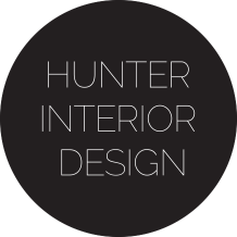 Hunter interior design logo