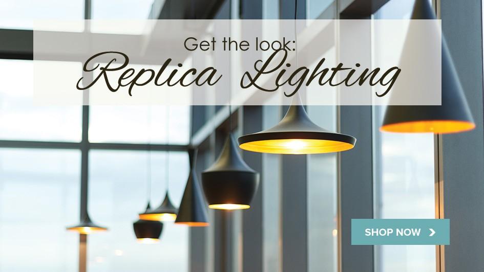 Replica lighting banner