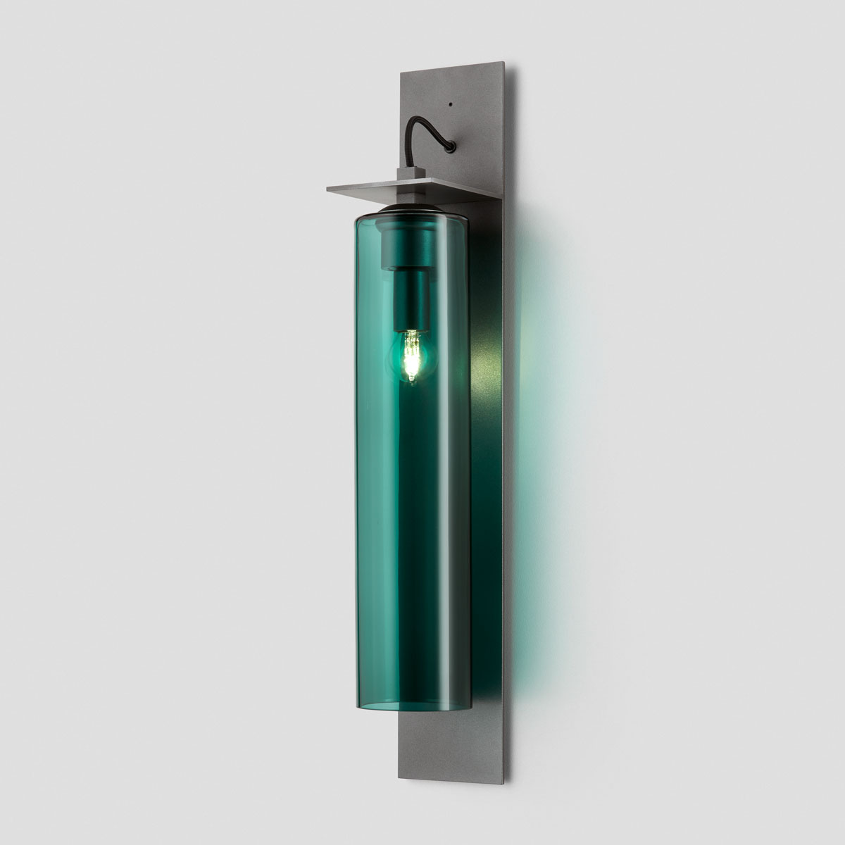Articolo lighting eclipse wall sconce tall drunken emerald articolo black black flex on