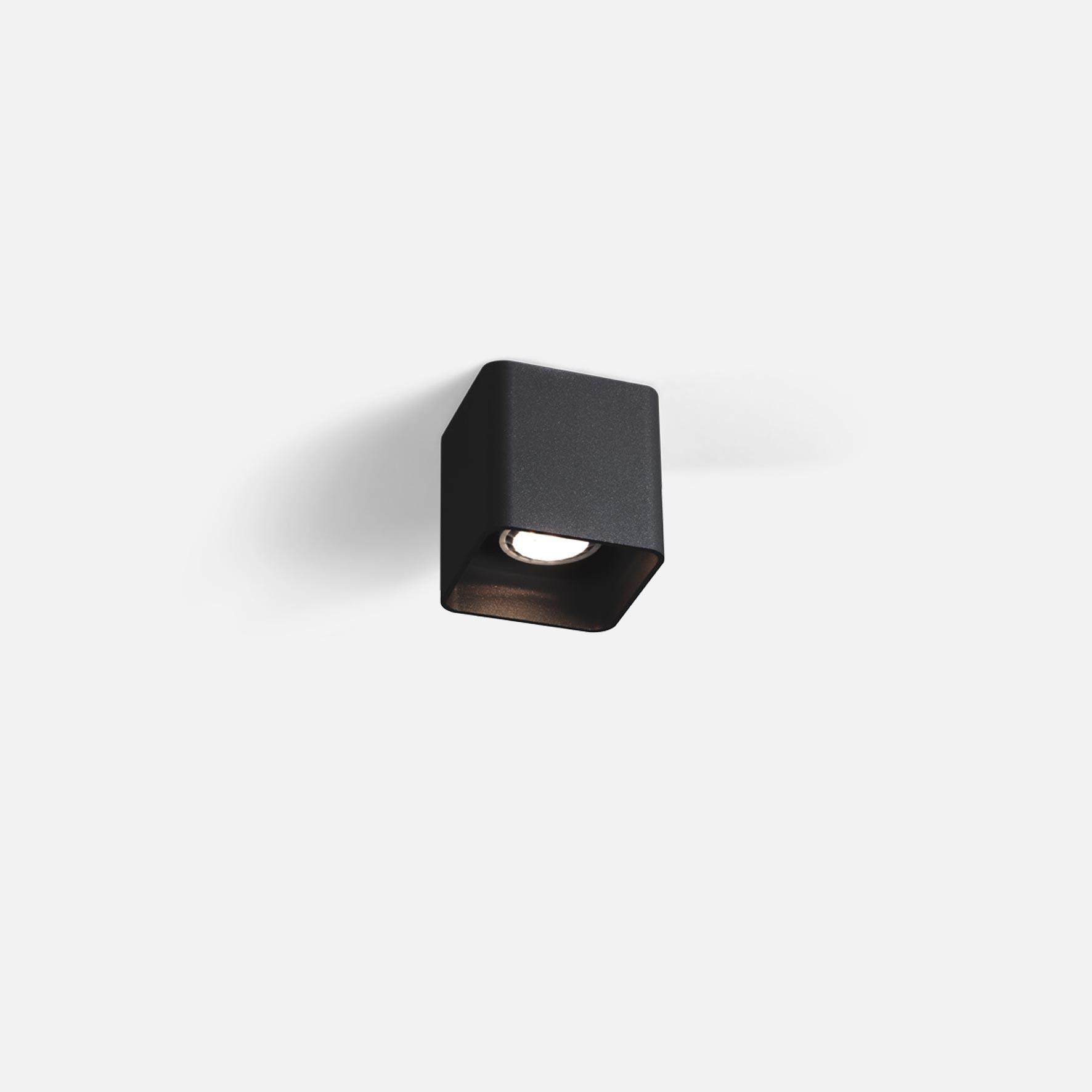 Docus 1.0 led black texture 3000k