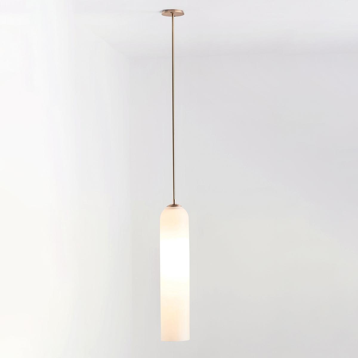 Hero articolo lighting float pendant snow brass short on