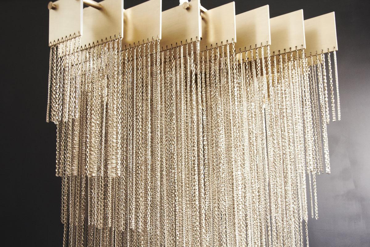 Kelly chandelier  brass 01