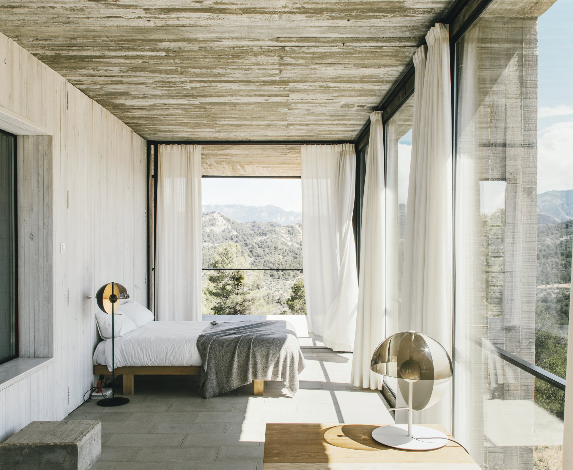 Marset hr theia in a concrete house 2