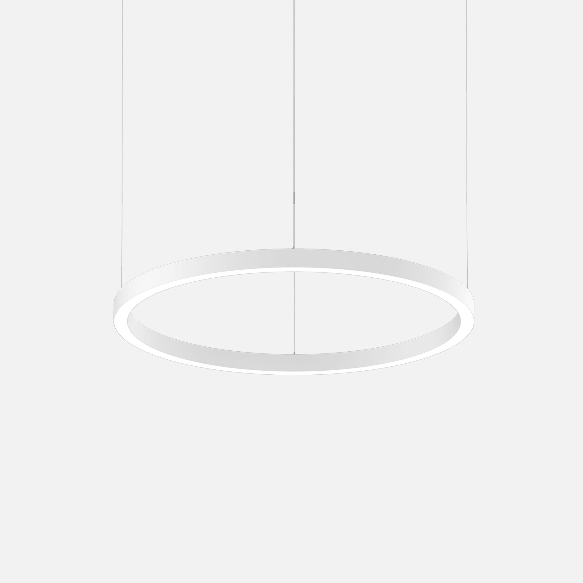 Mino 60 circle 1000 suspended white 1