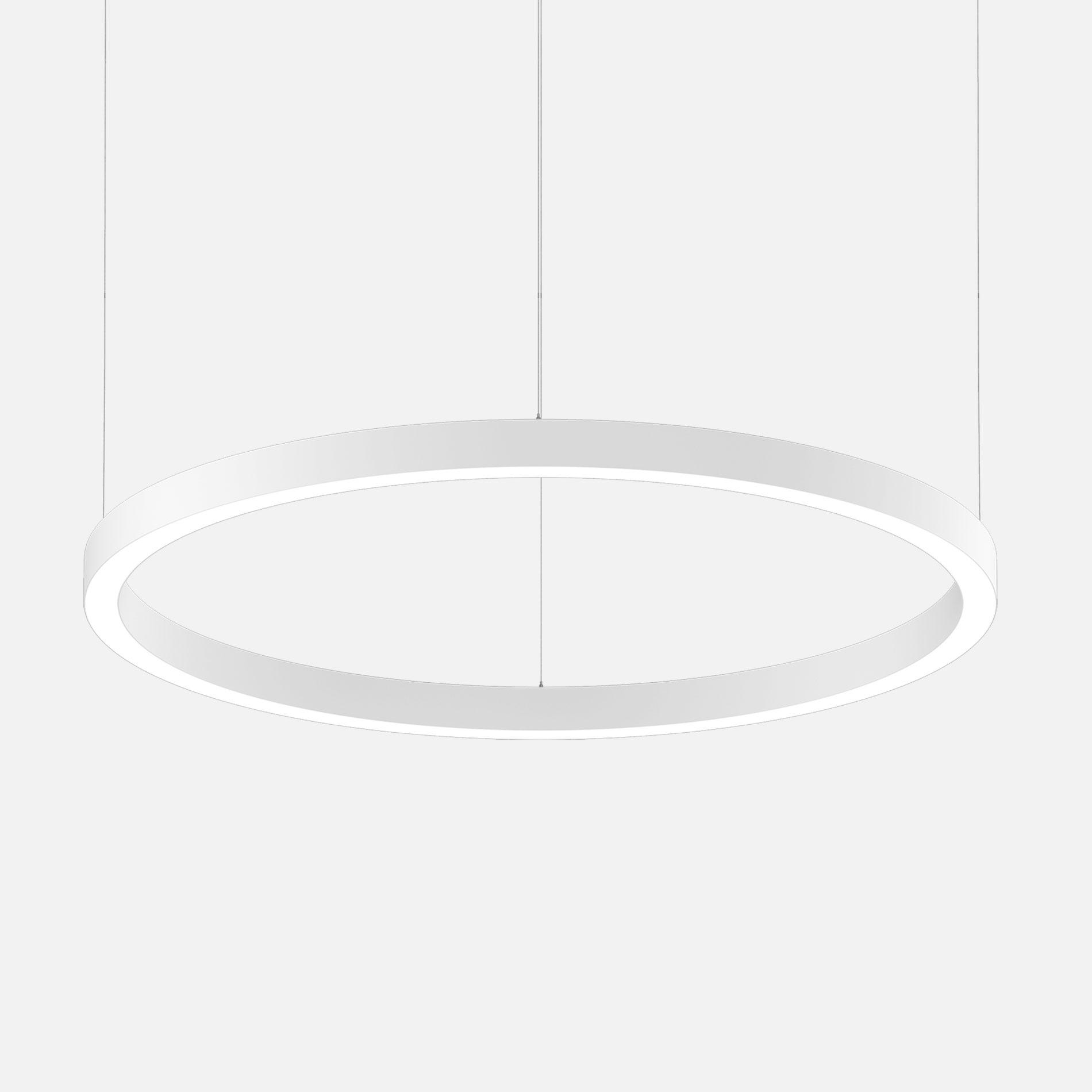 Mino 60 circle 1500 suspended white 2