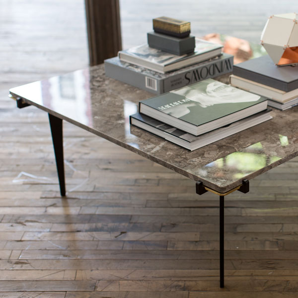 Prong coffee table square thumb