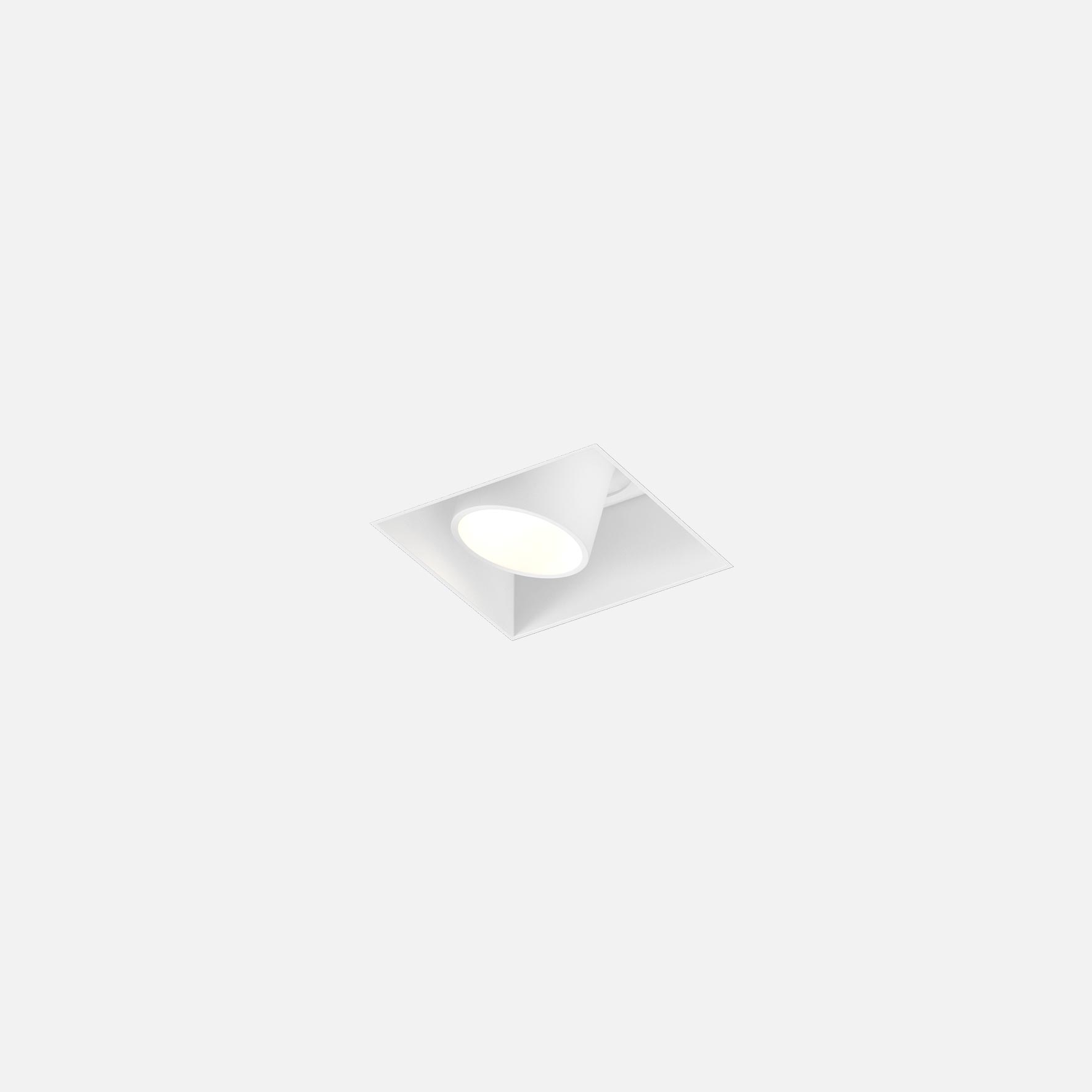 Sneak trimless 1.0 led white texture 1800 2850