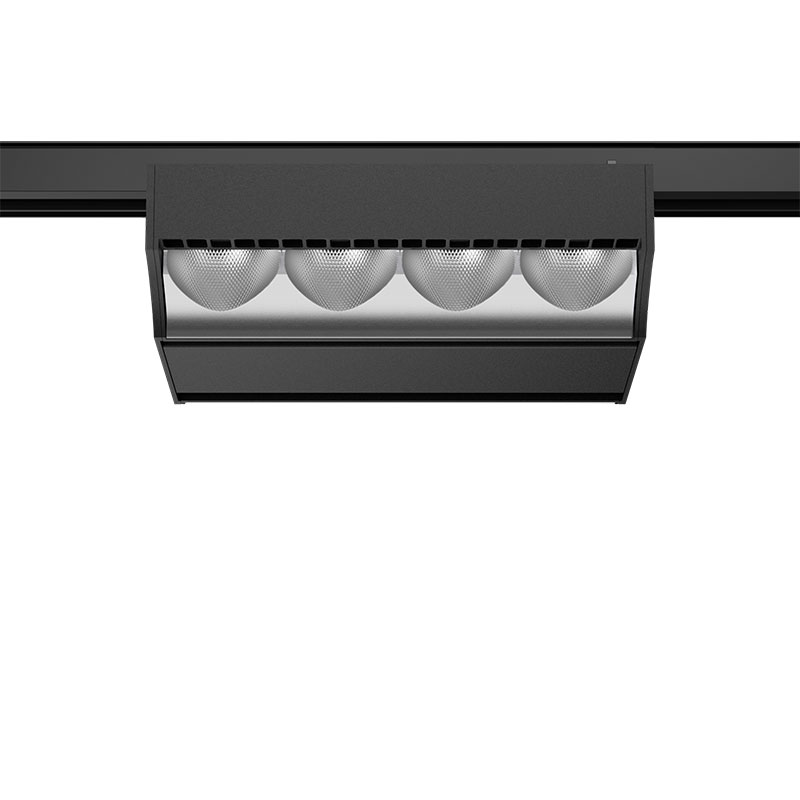 Squadro wallwasher black shelf