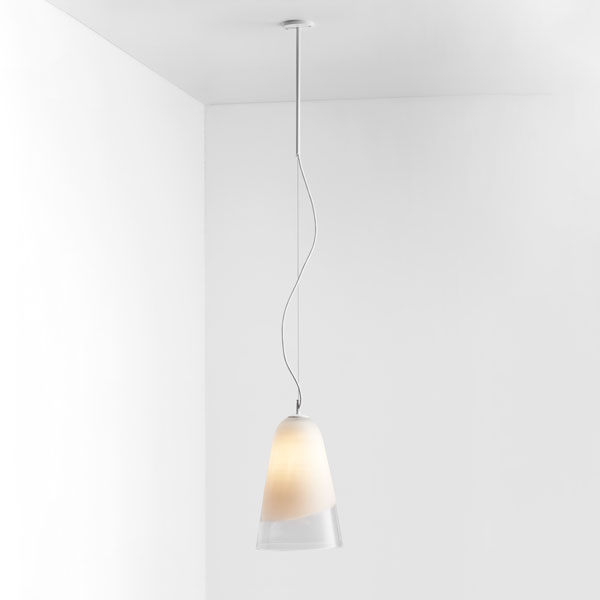 Thumb articolo lighting domi pendant white clear matte white white flex on