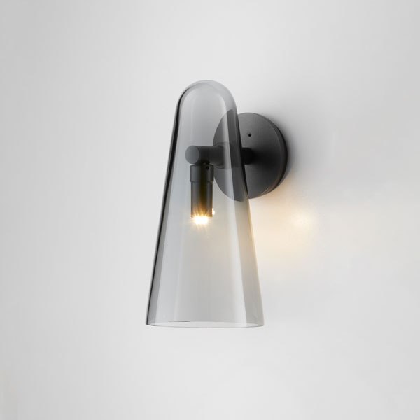 Thumb articolo lighting domi wall sconce grey articolo black on