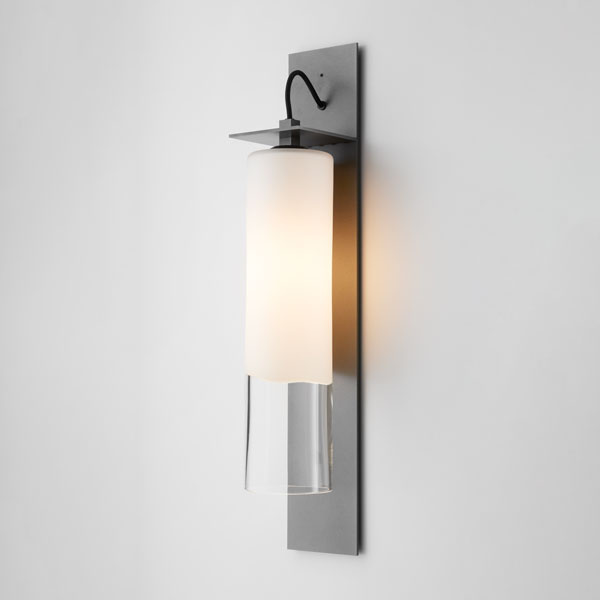 Thumb articolo lighting eclipse wall sconce tall white clear frost articolo black black flex on
