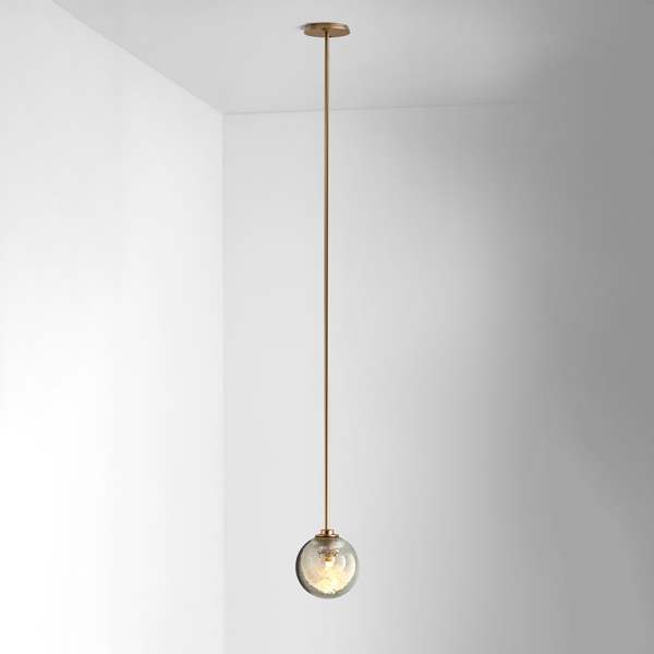 Thumb articolo lighting fizi pendant single ball brass rod on