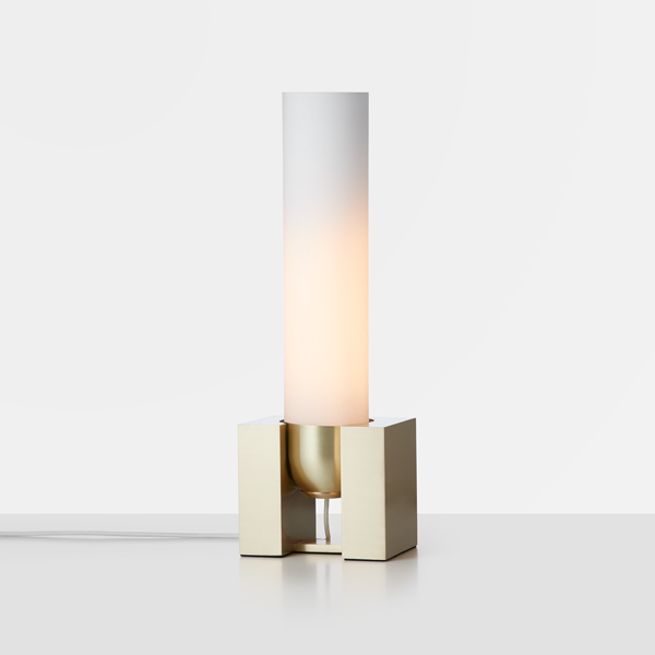Thumb articolo lighting float standing tall table lamp snow brass on