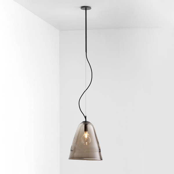 Thumb articolo lighting ici pendant smoke articolo black black flex on