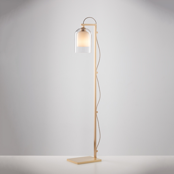 Thumb articolo lighting lumi floor lamp clear white brass natural linen flex on