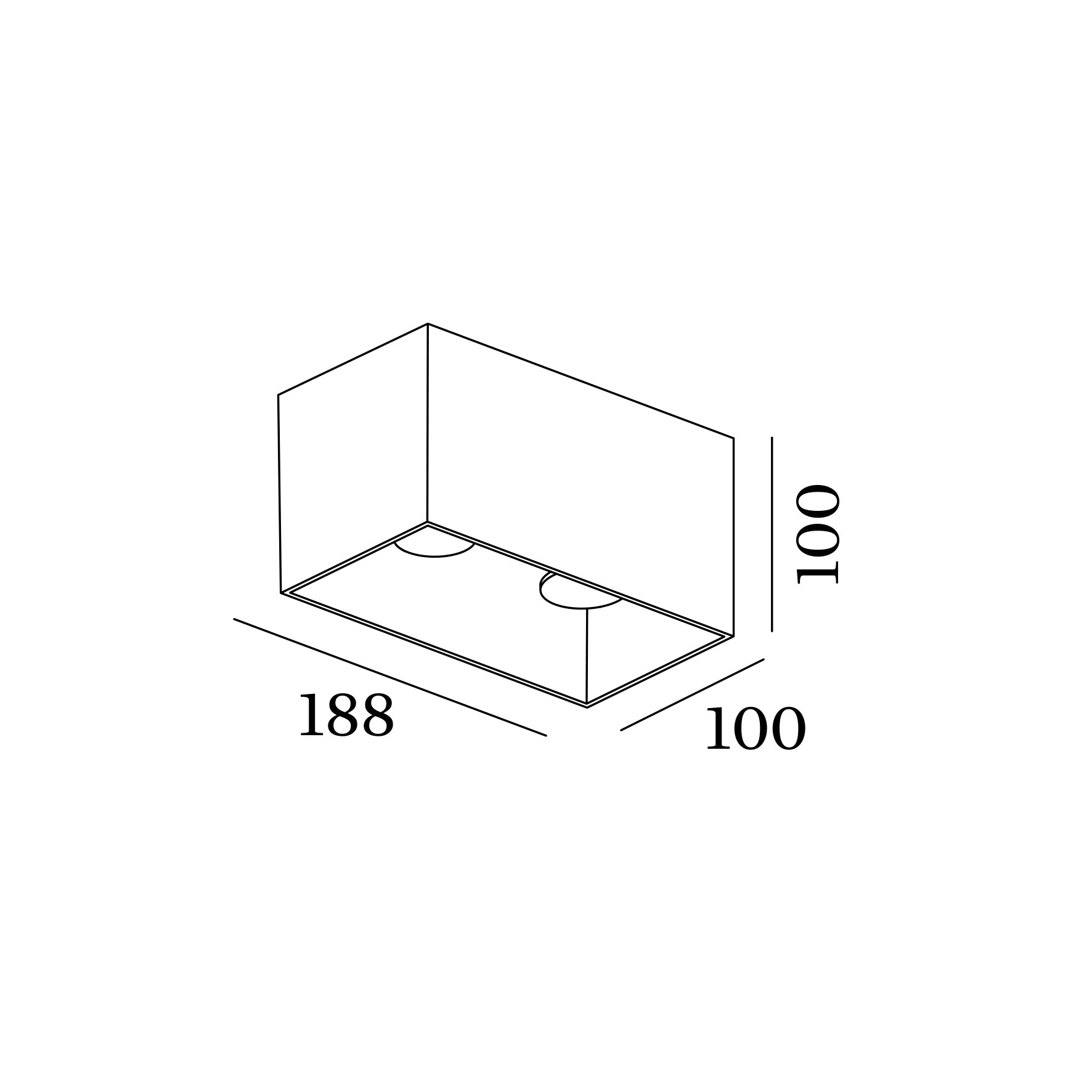 Box ceiling surface 2.0 led