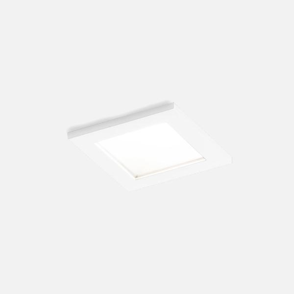 Thumb luna square ip44 1.0 led hv white texture