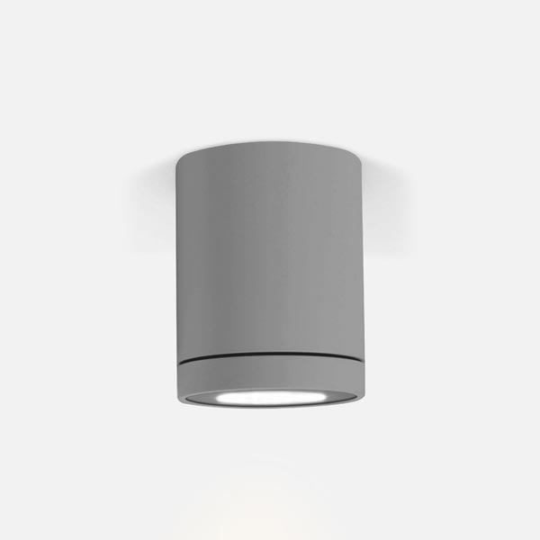 Thumb tube ceiling 1.0 led black texture