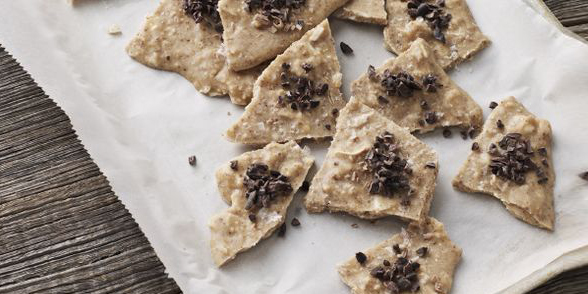 I Quit Sugar Recipe - Almond Butter Bark by Sarah Wilson