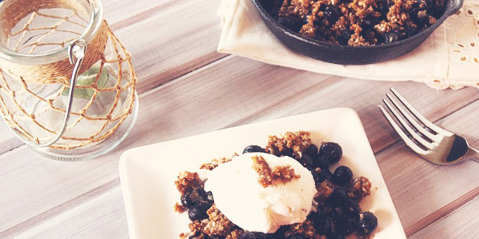 I Quit Sugar - Cold nights ahead? Warm up with 5 comforting crumble recipes