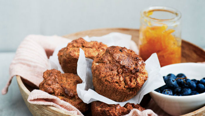 Recipe - Sweet Potato and Five Spice Muffin