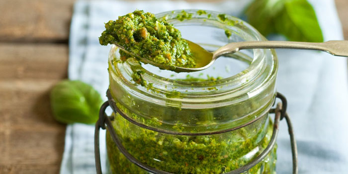 I Quit Sugar - Basil and Spinach Pesto