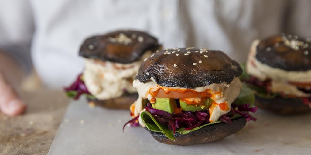 I Quit Sugar - Portobello Burgers