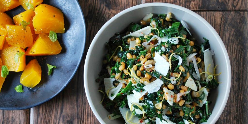 I Quit Sugar - Drum Beets Wheat, Rye and Kale Salad