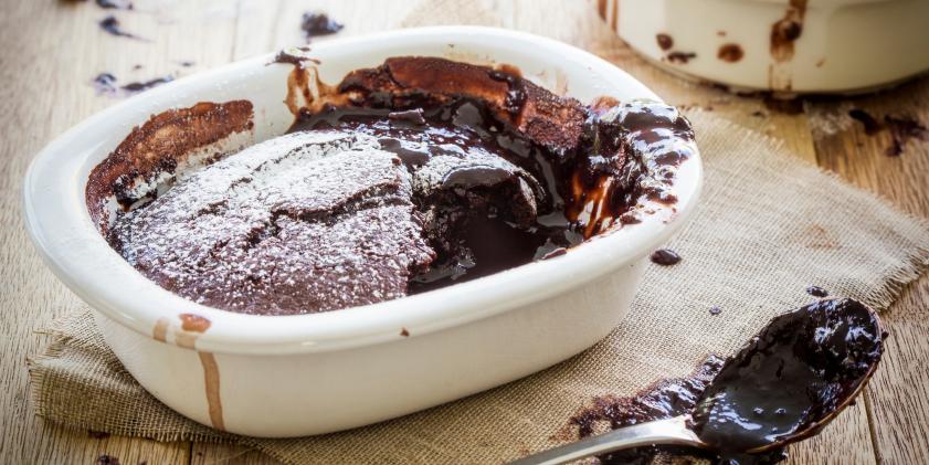 Choc-Beet Self Saucing Pudding