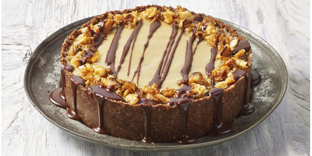 I Quit Sugar For Life - Choc-Caramel-Chunk + Peanut Butter Cheesecake