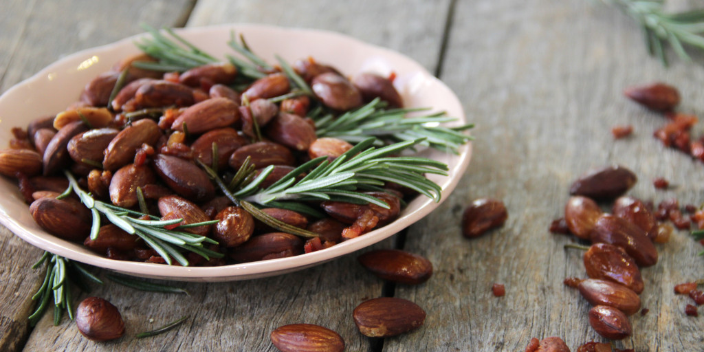 I Quit Sugar - Bacon + Rosemary Almonds