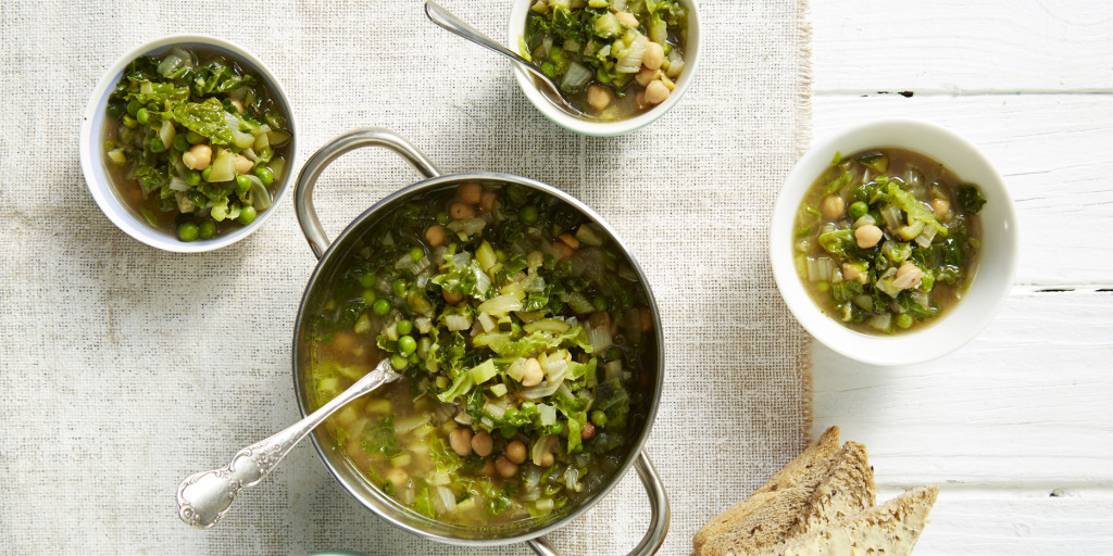 I Quit Sugar - Green Minestrone Soup