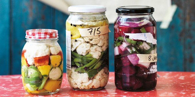 Simplicious - Chopped Salad Pickle