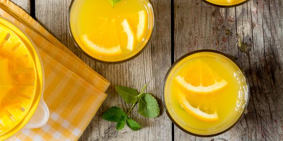 I Quit Sugar: Virgin Ginger Mimosa