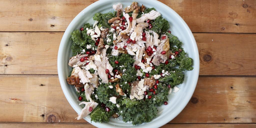 Christmas Salad.No Cook Roast Chook Christmas Salad