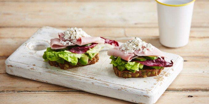 I Quit Sugar 8WP Recipe: Paleo Ham Sambo with Veggie Bread