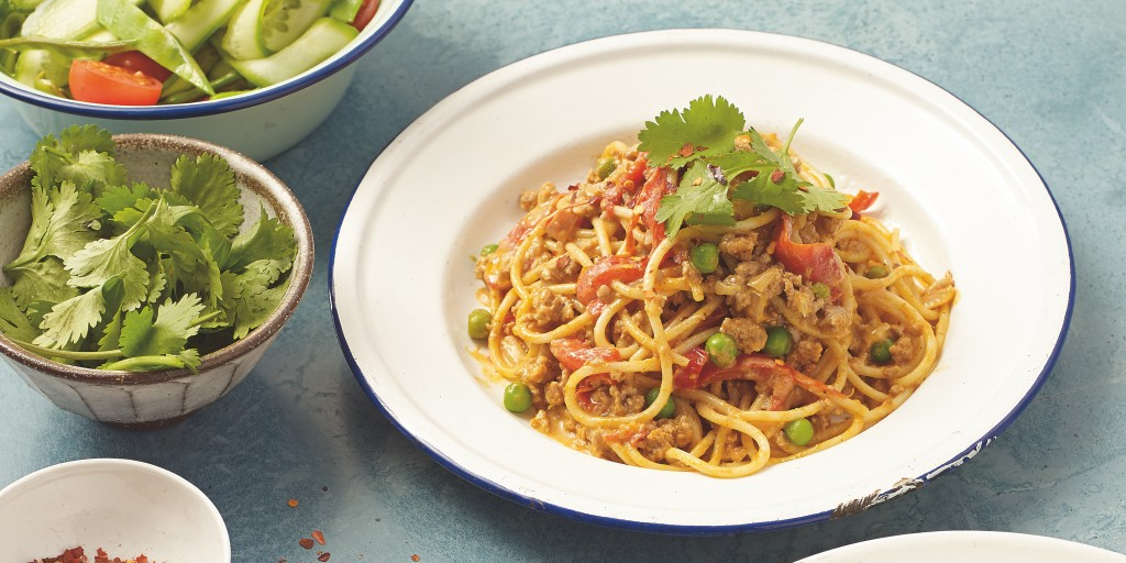 I Quit Sugar: Thai Curry Bolognese by I Quit Sugar for Life