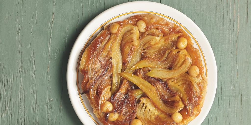 I Quit Sugar: Fennel Macadamia Tart by Sarah Wilson