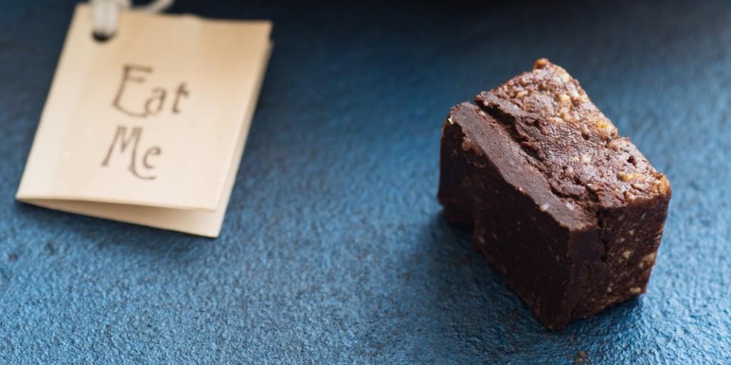 I Quit Sugar - Dark Chocolate, Plum + Tahini Fudge