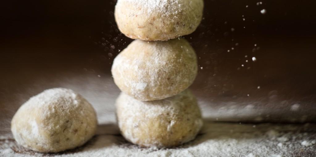 I Quit Sugar - Ginger-Spiced Lemon Hazelnut Balls